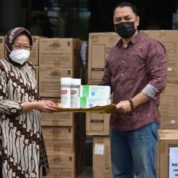 Penanganan Pandemi COVID-19, Eri Dapat Bantuan Dari Risma