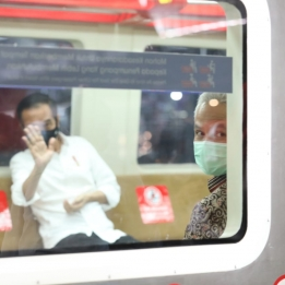 Presiden Resmikan Pengoperasian KRL Yogyakarta-Solo