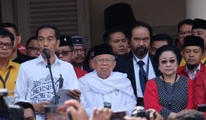 Pidato Jokowi di Gedung Joang