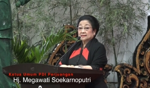 Pesan Megawati di Launching Atribut Milenial PDI Perjuangan