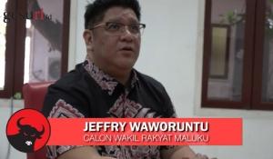 Jeffry Waworuntu, Calon Wakil Rakyat Maluku