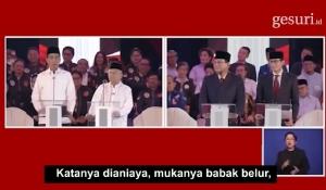 Debat Pilpres I 2019 (Hukum, HAM, Korupsi, dan Terorisme)