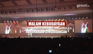 Malam Kebudayaan Tutup Rangkaian Rakernas PDI Perjuangan