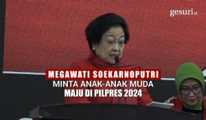 Megawati Minta Anak-Anak Muda Maju di Pilpres 2024