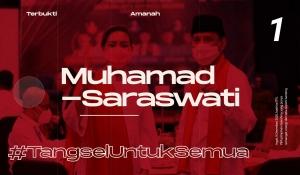 Bersama Muhammad-Saraswati, Ayo #BersatuMajukanTangsel!