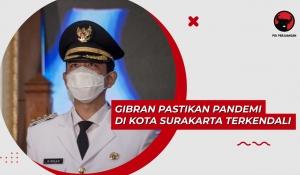 Gibran Pastikan Pandemi di Kota Surakarta Terkendali