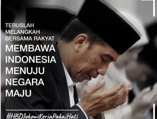 Jokowi Ultah jadi Trending Topic Twitter Indonesia