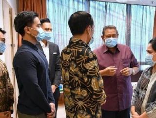 Jokowi Jenguk Ani Yudhoyono, Annisa Pohan: Terima Kasih