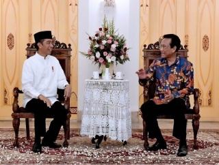 Jokowi-Amin Terima Ucapan Selamat dari Sultan HB X