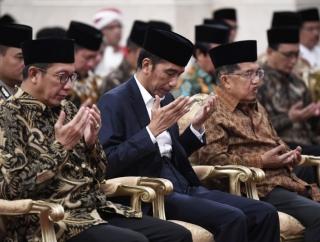 Jokowi: Peringatan Nuzulul Quran di Istana Masukan Ulama