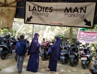 Pemisahan Parkir di Depok Berdasarkan Gender Tuai Kecaman