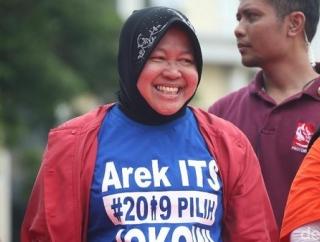 Risma Sangat Layak Masuk Kabinet Jokowi