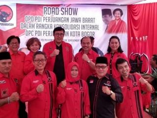 DPD PDI Perjuangan Jabar Konsolidasi ke Bogor