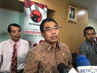 PDI Perjuangan Telisik Cawagub DKI Pilihan Gerindra dan PKS