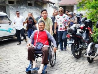 Gibran Hadiri Sarasehan Bersama Keluarga Disabilitas