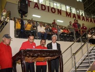 Rudy: Biaya Renovasi Stadion Manahan Solo Rp301,33 Miliar
