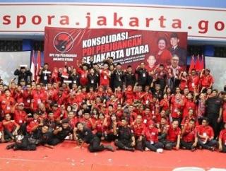 PDI Perjuangan Jakut: Menangkan Partai 3 Kali Berturut-turut