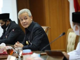 Bahas Normal Baru, Ganjar Undang Pemuka Agama di Jateng