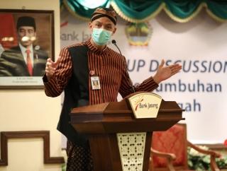 Ganjar Gandeng Bank Jateng & BPR BKK Bangkitkan UKM