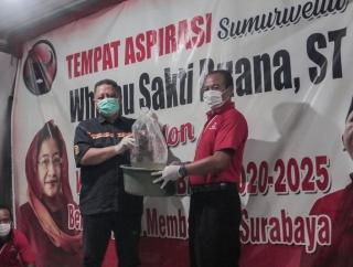 Posko Relawan Pemenangan WS Mulai Berdiri dari Barat