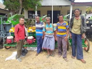 Sinergi Ansy-Kementan, Petani Belu & Kupang Dapat Alsintan