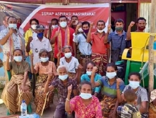 Aspirasi Petani TTS, Ansy Bertekad Perjuangkan Alsintan