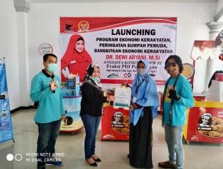 Gebrakan Sumpah Pemuda, Dewi Rilis Program Ekonomi Rakyat