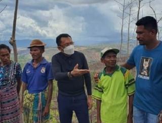 Serap Aspirasi Petani & Nelayan, Ansy Blusukan di TTU