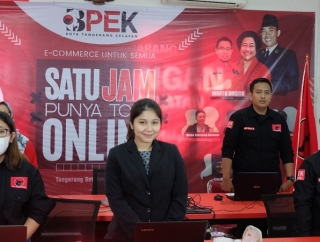 BPEK Banteng Tangsel Webinar Satu Jam Bikin Toko Online