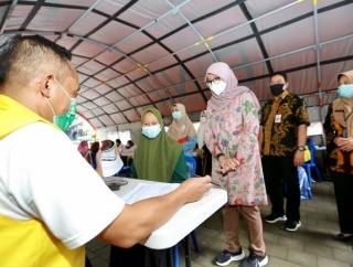 Vaksinasi di Kabupaten Banyuwangi Sasar Kalangan Santri