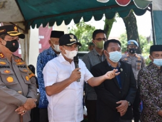 Instruksi Jokowi, Bupati Zahir Siap Habiskan Stok Vaksin