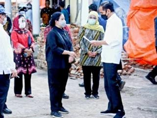 Puan Bersama Presiden Jokowi Kunker ke Provinsi Banten