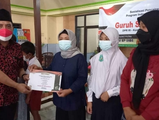 Beasiswa PIP Guruh, Budi Susilo: Manfaatkan Seharusnya
