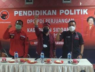 Hadapi Pemilu, PDI Perjuangan Sidoarjo Latih 1.236 Peserta