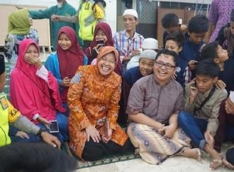 Pastikan Malam Takbiran Kondusif, Risma Keliling Masjid Kota