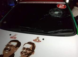 Diancam Dibunuh, Mobil Pendukung Djoss Dirusak