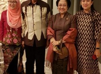 Bahas Politik, Megawati Makan Malam Bersama Anwar Ibrahim