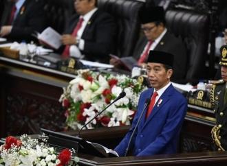 Sidang Paripurna, Jokowi Ingin Palestina Merdeka