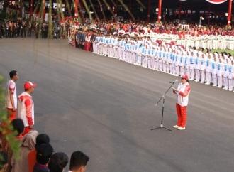 Puan: Obor Asian Games Gelorakan Semangat Tim Indonesia