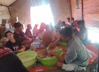 Baguna PDI Perjuangan Buka Dapur Umum di Desa Pemenang