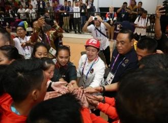 Menko Puan Optimistis Indonesia 5 Besar Asian Games