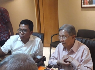 Kwik Kian Gie Hadiri Diskusi Ekonomi TKN Jokowi-Ma'ruf