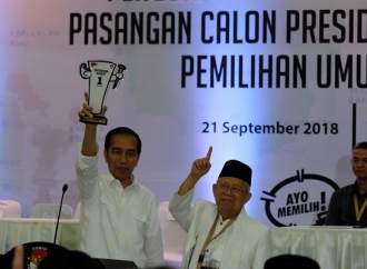 Sah, Pilpres 2019 Jokowi-Ma'ruf Nomor Urut 1