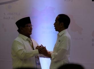 Jokowi: Pak Prabowo dan Pak Sandi, Sahabat Saya Sejak Lama