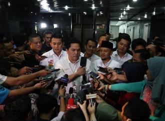 Usung #IndonesiaMaju, Erick: Pemilu Bukan Ajang Perseteruan