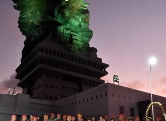 Patung Garuda Wisnu Kencana Diresmikan Presiden