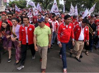 Ara dan Kang Emil Kampanye Perdana Jokowi-Ma'ruf di Sumedang