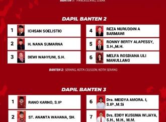 Daftar Calon Tetap Anggota DPR RI (Banten 1-3)