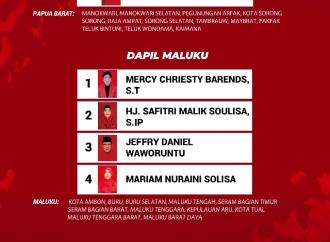 DCT Anggota DPR RI 2019-2024 (Papua Barat, Maluku, Malut)