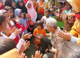 Ganjar Ajak Kepala Daerah Bantu Korban Gempa Sulteng